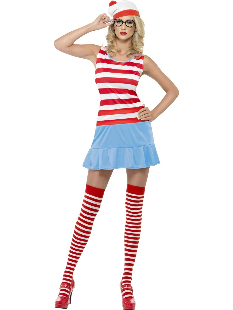 adult where 39 s wenda wally cutie costume 25745 fancy dress ball. Black Bedroom Furniture Sets. Home Design Ideas