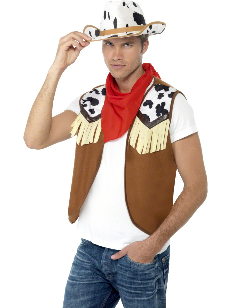 b7ab3ba8a Wild West Male Instant Kit - 45234 - Fancy Dress Ball