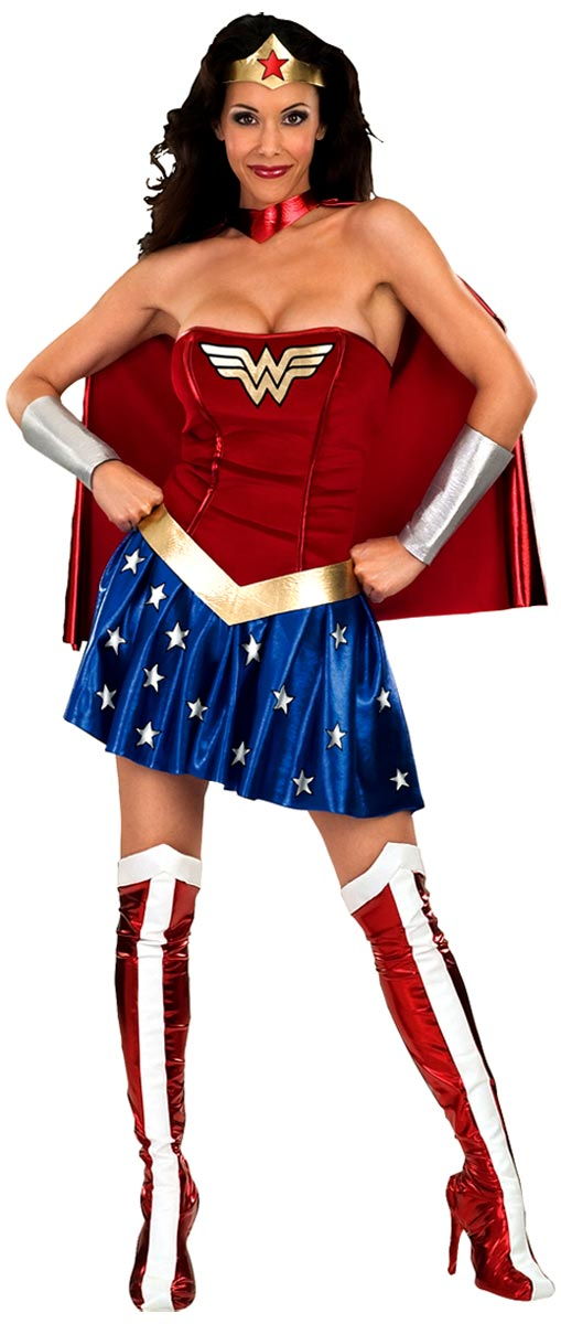 Adult Deluxe Wonder Woman Costume  sc 1 st  Fancy Dress Ball & Adult Deluxe Wonder Woman Costume - 888439 - Fancy Dress Ball