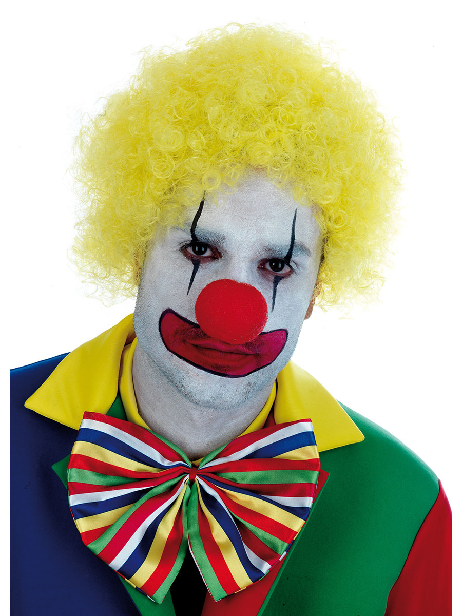 Yellow Clown Wig 63