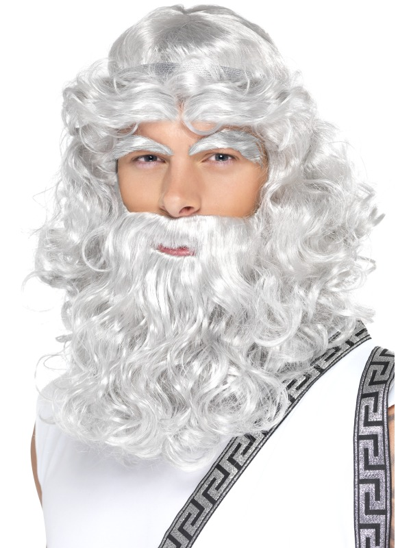 Zeus Wig And Beard 39