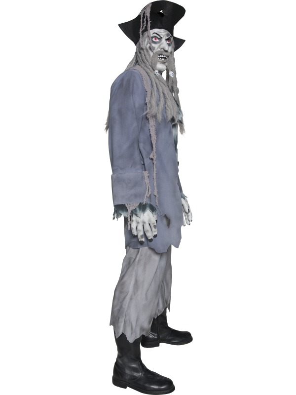 adult zombie alley ghost pirate costume 34118 fancy. Black Bedroom Furniture Sets. Home Design Ideas