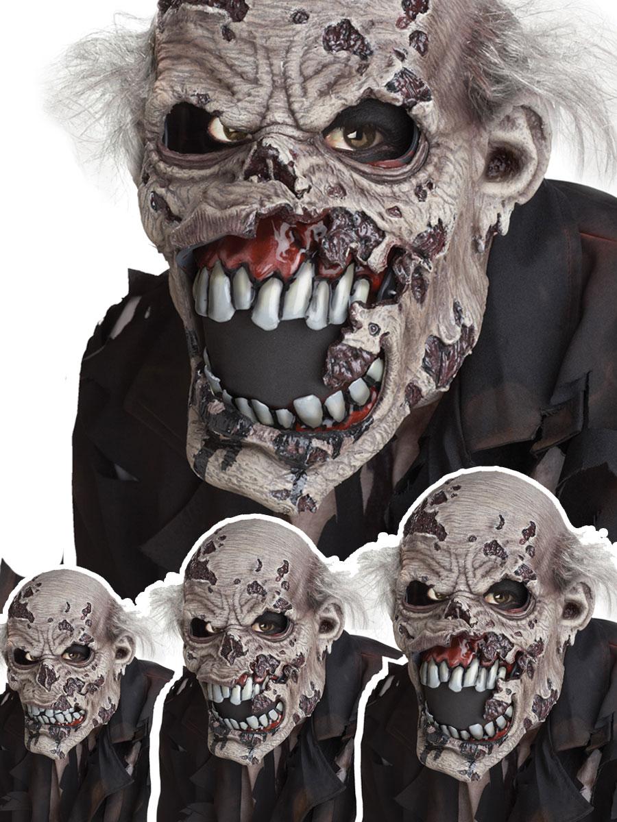 zombie ani-motion mask - 60543 - fancy dress ball