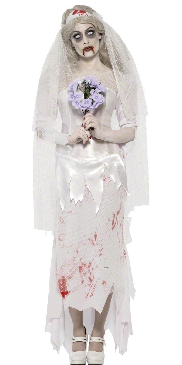 Adult Zombie Bride Costume - 23295 - Fancy Dress Ball