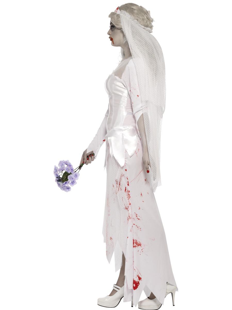 Adult Zombie Bride Costume 23295 Fancy Dress Ball