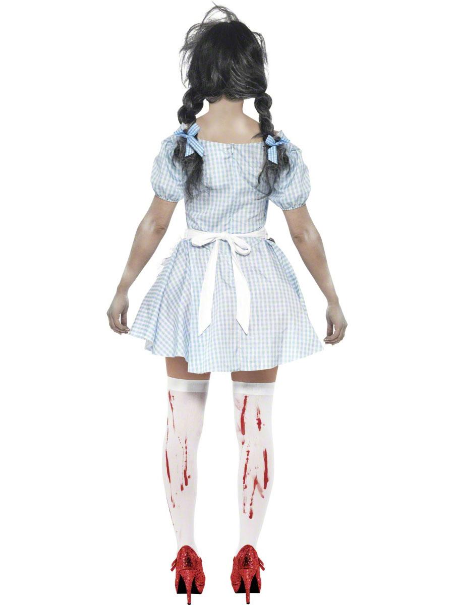 Innovative Girls Zombie Princess Costume Horror Fairytale Halloween Fancy Dress