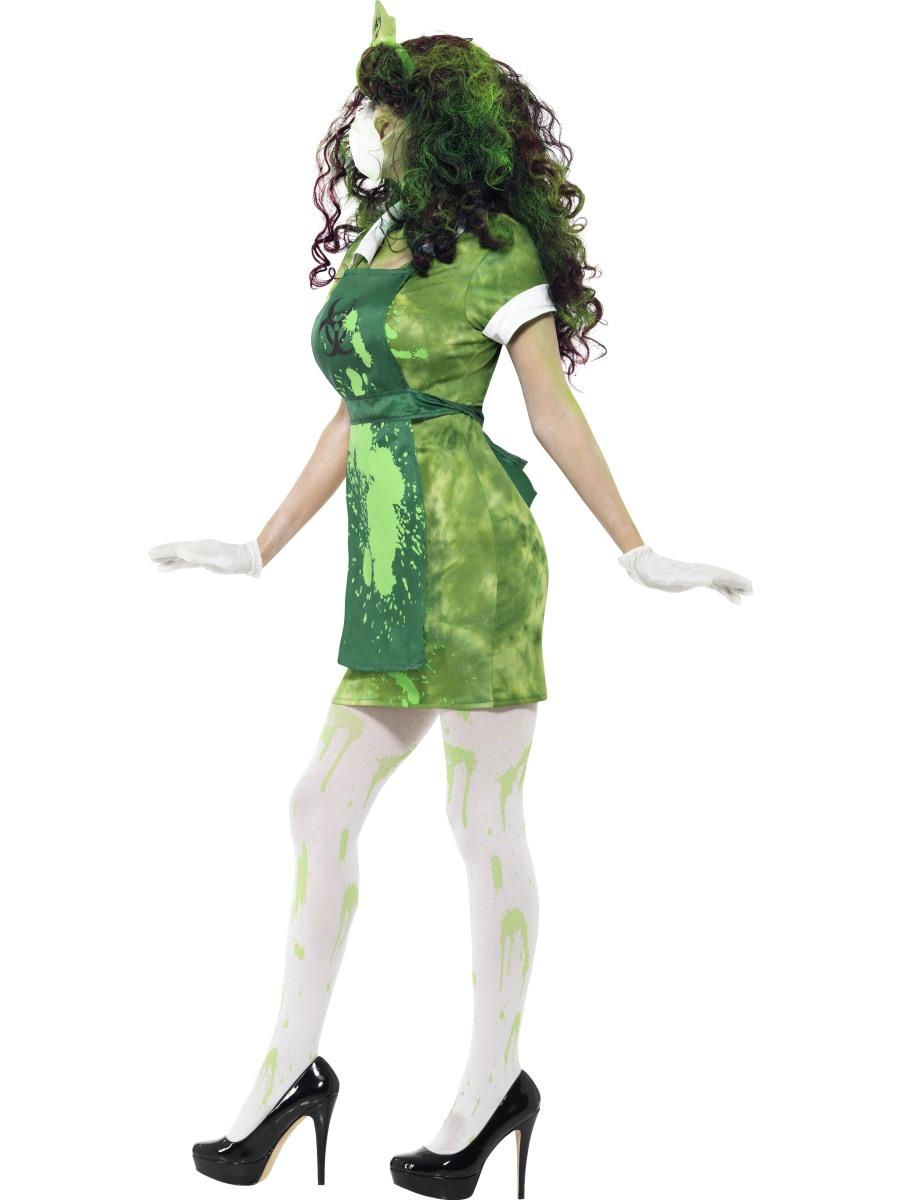Adult Biohazard Lab Nurse Costume 40055 Fancy Dress Ball