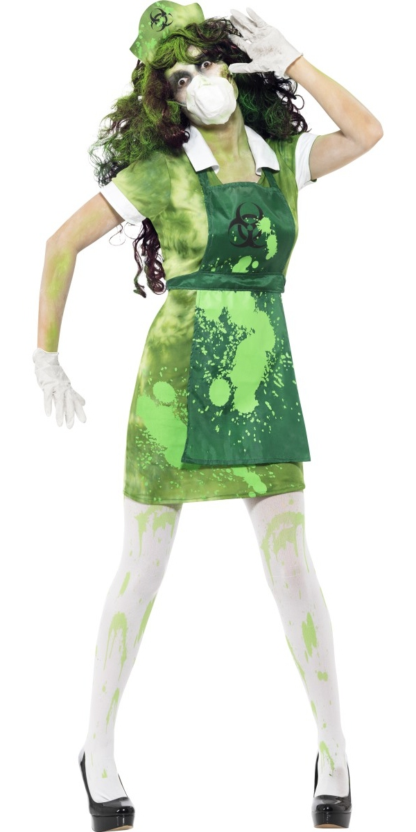 591d38d703b44 Adult Biohazard Lab Nurse Costume - 40055 - Fancy Dress Ball