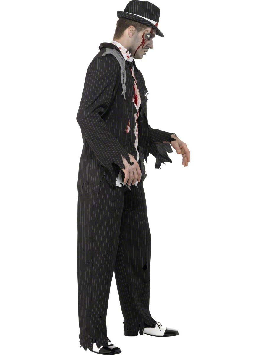 adult zombie gangster costume - 31910 - fancy dress ball