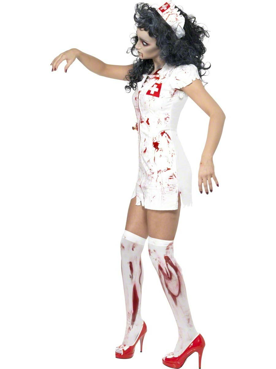 fc612d2a06cb6 Adult Zombie Nurse Costume - Side View · VIEW FULL IMAGE