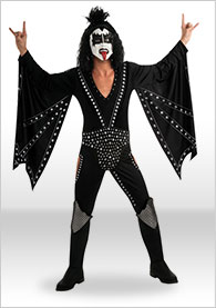Kiss Costumes Kiss Outfits Gene Simmons Costume Paul