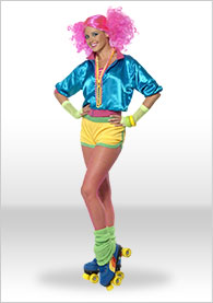 Ladies 80's Fancy Dress
