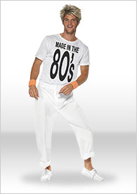 Mens 80's Fancy Dress