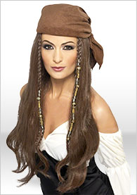 New Women The Queen The Pirates of the Caribbean Sailors Costume Fancy Dress up