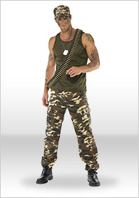 Military Fancy Dress Military Costumes Army Outfit