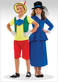 Childrens world book day costumes
