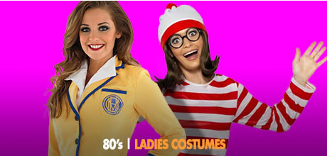 REWIND THE 80u0027S FESTIVAL COSTUME IDEAS - 80u0027s Ladies Costumes -  sc 1 st  Fancy Dress Ball & Rewind the 80u0027s Festival Costumes | Rewind the 80u0027s Festival in ...