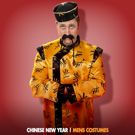 CHINESE NEW YEAR COSTUME IDEAS - Mens -  sc 1 st  Fancy Dress Ball & Chinese New Year Costumes | Chinese New Year in February ...