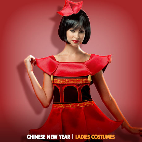 CHINESE NEW YEAR COSTUME IDEAS - Ladies -  sc 1 st  Fancy Dress Ball & Chinese New Year Costumes | Chinese New Year in February ...