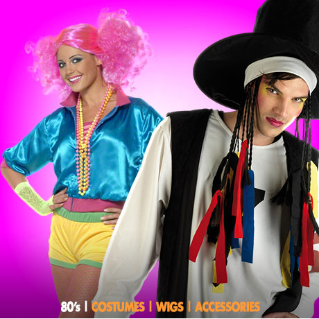 BACK TO THE 80s COSTUMES. Popular Costumes u0026 Ideas  sc 1 st  Fancy Dress Ball & Back to the 80s Costumes | Back to the 80s in July - FancyDressBall ...
