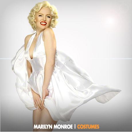 MARILYN MONROE. Costumes u0026 Wigs  sc 1 st  Fancy Dress Ball & Marilyn Monroe Costumes | Marilyn Monroeu0027s Birthday in June ...