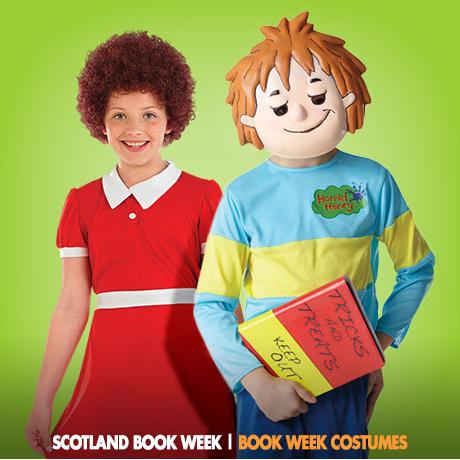 Scotland Book Week Costumes | Scotland Book Week in November - FancyDressBall.co.uk