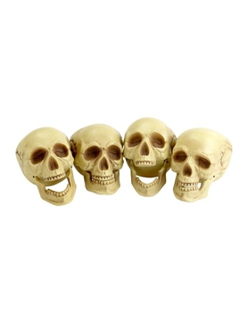 16cm Skull Heads Decoration
