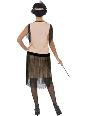 Adult 1920's Coco Flapper Costume - Side View