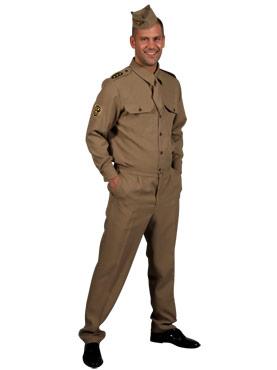 1940s GI American Army Uniform