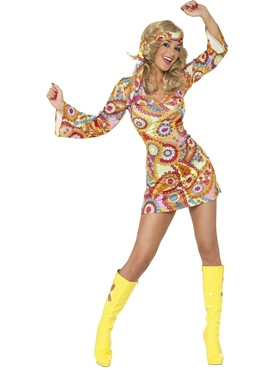 Adult 1960's Hippy Costume