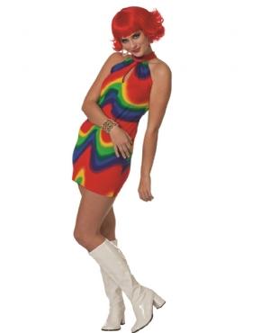 Adult Ladies Disco Beat Costume