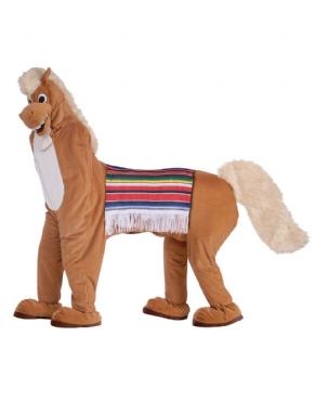 Adult 2 Man Horse Costume