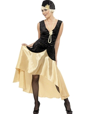 Adult 20's Gatsby Girl Costume
