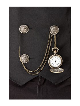 20s Pocket Fob Watch - Side View