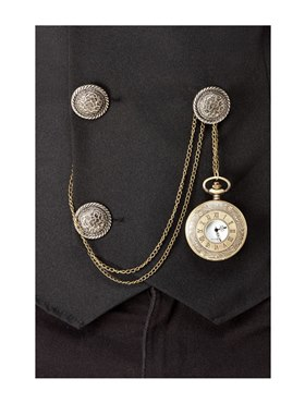 20s Pocket Fob Watch - Back View