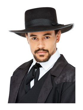 20s Wide Brim Fedora Hat