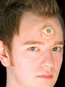 3D Eye Latex Appliance