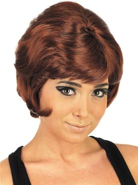 Adult 60's Beehive Auburn Wig