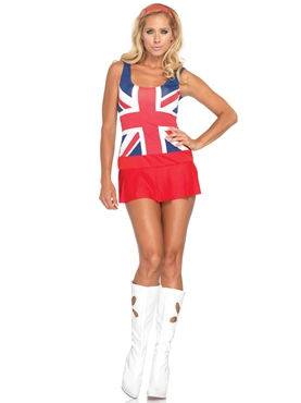 Adult 60's Cheeky Brit Costume