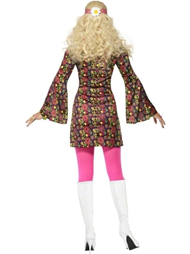 Adult 60's CND Ladies Costume - Side View