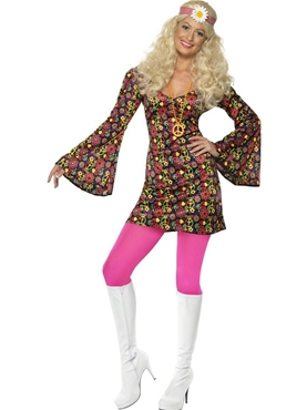 Adult 60's CND Ladies Costume Thumbnail