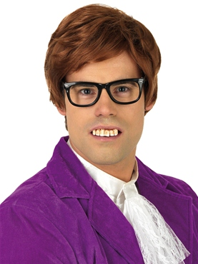 Adult 60's Austin Powers Wig