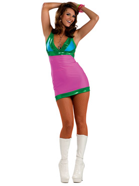 60's Go- Go Bright Costume