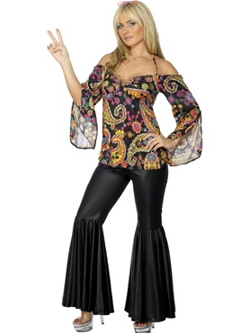 Adult 60s Hippie Costume