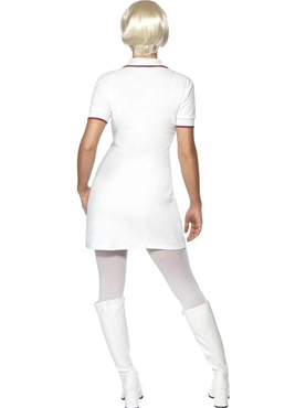 Adult 60's Mod Ladies Costume - Side View