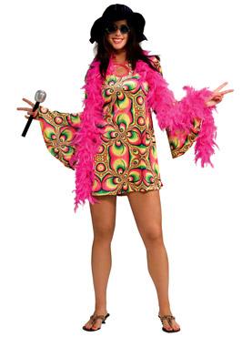 Adult 60's Psychadelia Costume