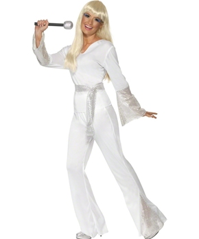 Adult 70s Disco Ladies Costume