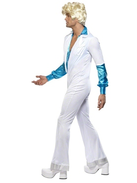 Adult 70s Disco Man Costume - Back View