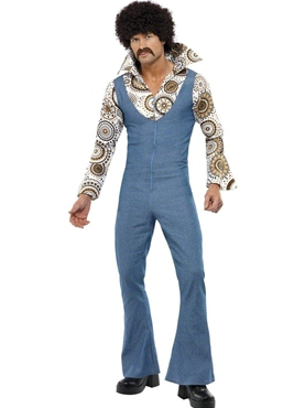 Adult 70's Groovy Disco Dancer Costume