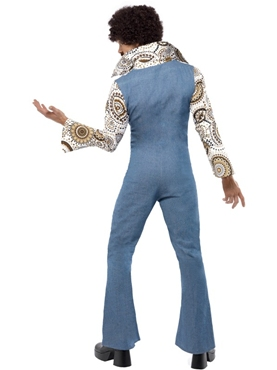 Adult 70's Groovy Disco Dancer Costume - Side View
